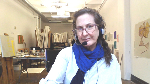 Sharon Butler organizes Marathon Art Conversation on Clubhouse for Dumbo Open Studios